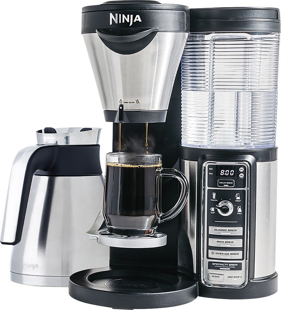 Ninja – Coffee Bar Brewer with Thermal Carafe On Sale Today Only Just $99.99 (Reg $200)