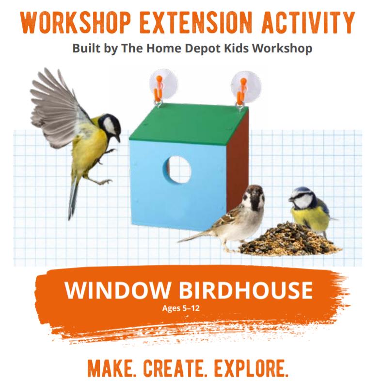 Home Depot: FREE Birdhouse Building Workshop For Kids