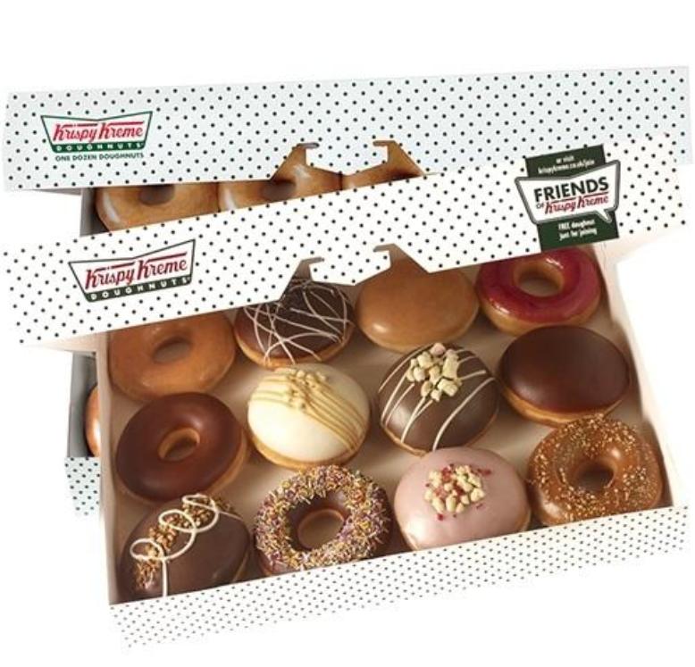 graphic relating to Krispy Kreme Printable Coupon known as Krispy Kreme $6.99 for 1 Dozen Donuts with Printable Coupon