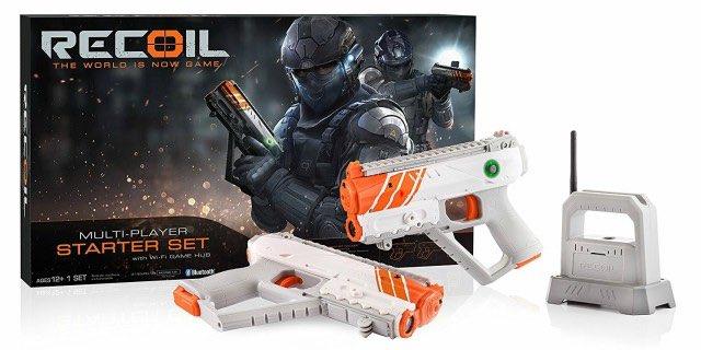 Amazon: Recoil Laser Combat Starter Kit Only $29.49 (Reg. $98)!