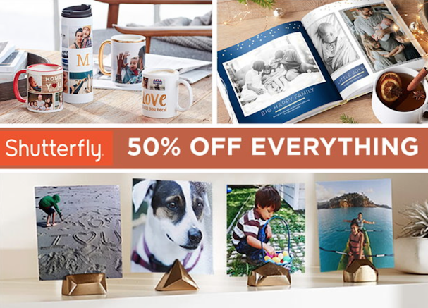 shutterfly 50 percent off coupon code
