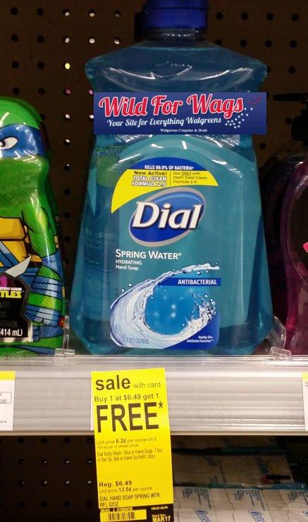 Walgreens: Dial Liquid Hand Soap Refills 52 oz. Only $2.99 Each (Reg. $6.49)!