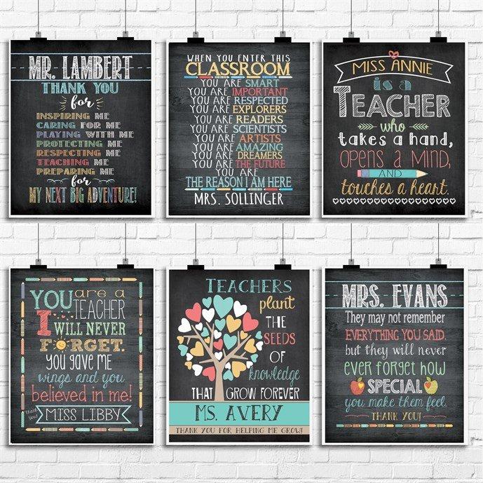 Teacher Name Gift Prints On Sale Just .99 (Reg .99 )