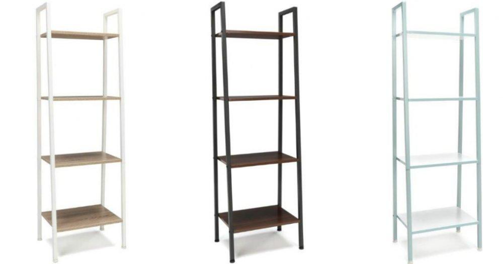 4-Tier Ladder Bookshelf Only $26 Shipped!