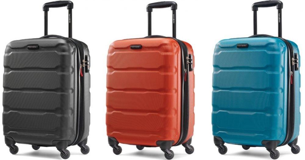 """Samsonite Omni Hardside 20"""" Luggage Only $69 Shipped (Reg. $180)!"""
