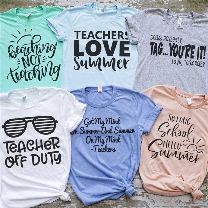 Teacher Summer Tees On Sale Just .99 (Reg  )