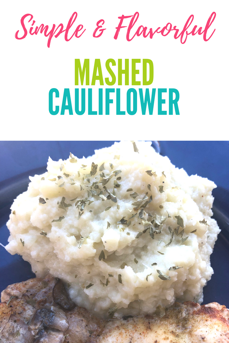 Easy Keto & Low Carb Mashed Cauliflower Recipe. Use your instant pot or not! This creamy cauliflower mash will help you feel a lot less deprived with your keto/low carb diet!