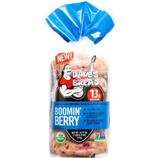 Kroger Freebie Friday: FREE Dave's Killer Boomin Berry Bagels