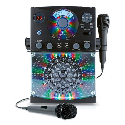 Singing Machine Karaoke SML385BTBK (Black) Bundle with Additional Microphone On Sale Just $48.99 (Reg. $79.98) – Prime Only!