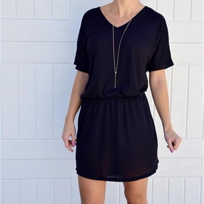 Women's Flowy V-Neck Dress On Sale Just $17.99 (Reg $47.99)