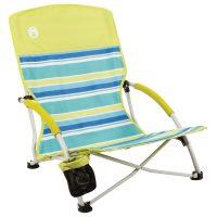 Coleman Chair Low Sling Beach Citrus On Sale Just $32 (Reg.  $59.99)
