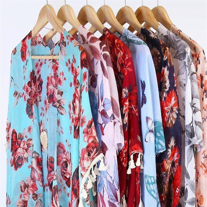 Woven Print Kimono Blowout On Sale Just $7.99 (Reg $29.99)