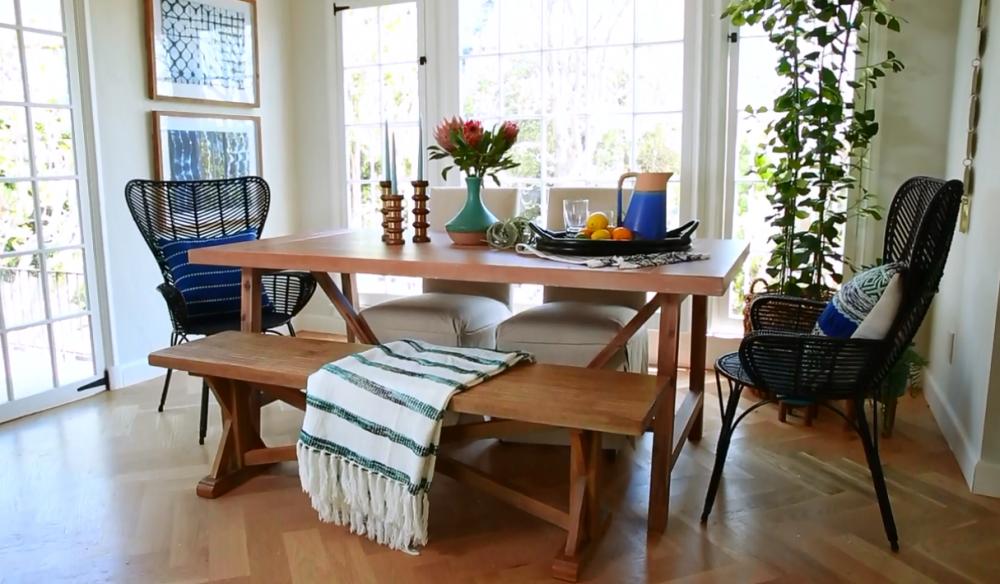 Wheaton Farmhouse Trestle Dining Table – Threshold™ On Sale Just $339.99 (Reg $400)
