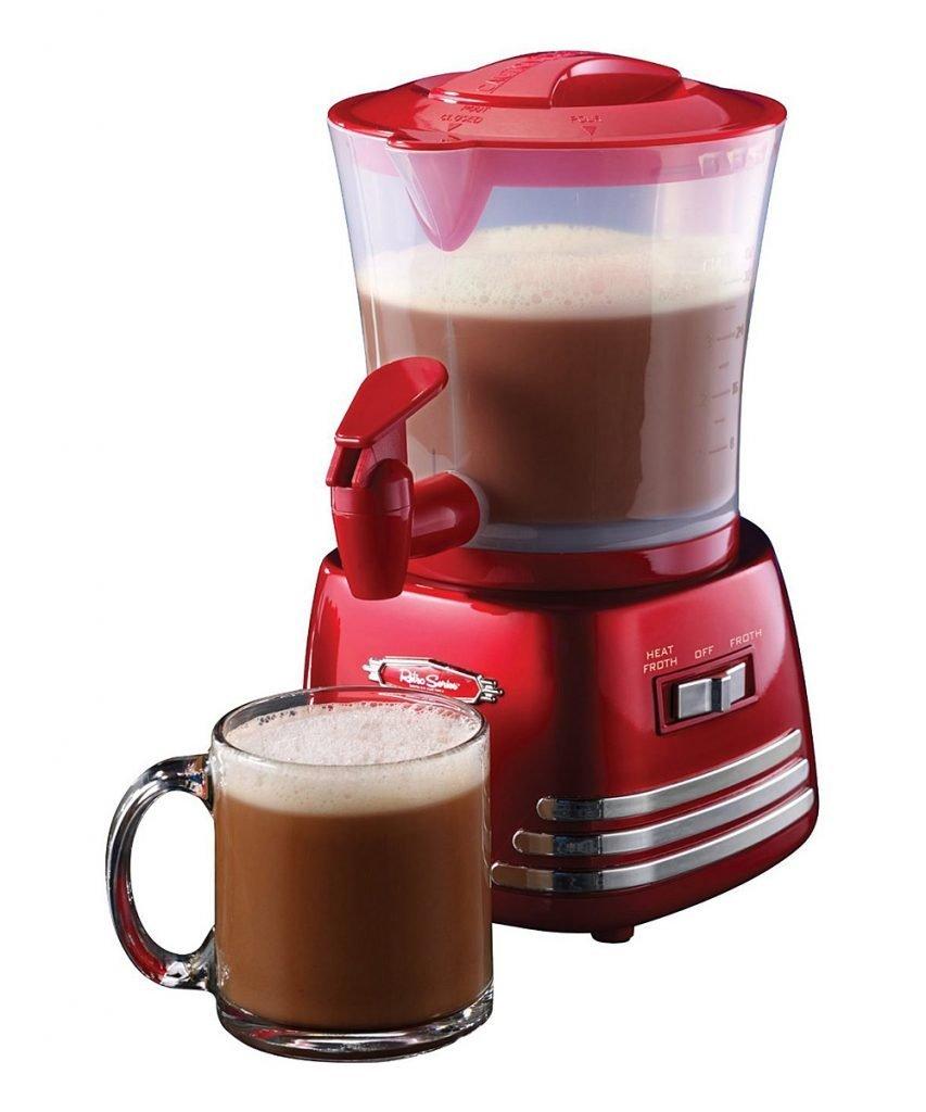 Retro Hot Chocolate Maker from Nostalgia On Sale $23.99 (Reg $40)