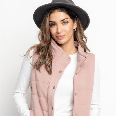 Quilted Vest On Sale Just $21.99 – Available in 8 Colors!