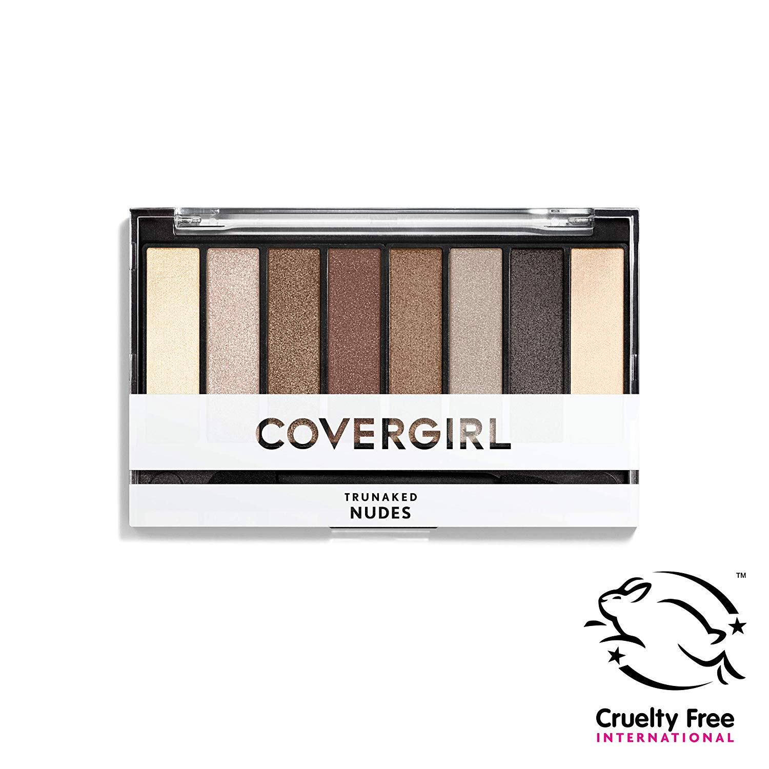 COVERGIRL truNAKED Eyeshadow Palette, Nudes 805, 0.23 ounce (Packaging May Vary) On Sale