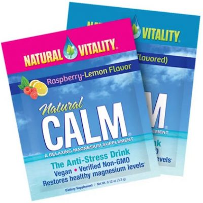 FREE Pouch of Natural Calm Supplement!