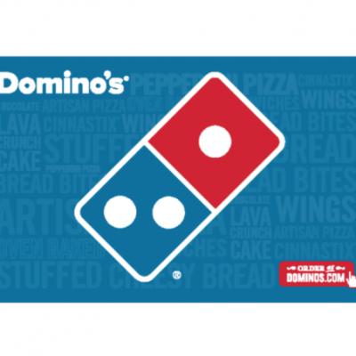 Ebay – $15 Domino's eGift Card Just $10