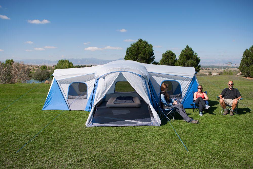Ozark Trail Hazel Creek 16 Person Family Cabin Tent Just