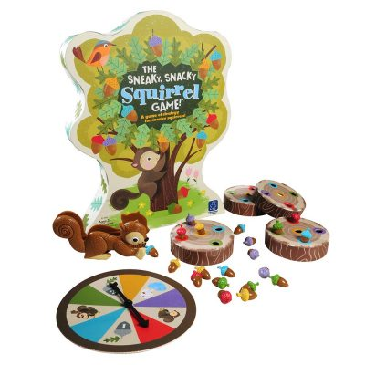 Educational Insights The Sneaky, Snacky Squirrel Toddler & Preschool Board Game *Discounted*