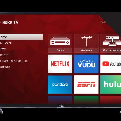 Refurbished TCL 43″ Class 4K Ultra HD (2160P) Roku Smart LED TV (43S421) Just $159.99 (Reg.  $479.99)