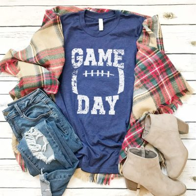 Game Day Football Tees / 7 Colors Just $14.99 (Reg $28.99)