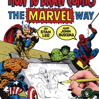 How To Draw Comics The Marvel Way *Low Price!*