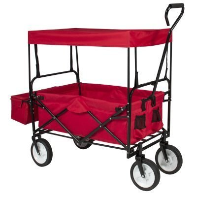 Best Choice Products Folding Utility Wagon Cart Just $59.99 (Reg.  $150.99)
