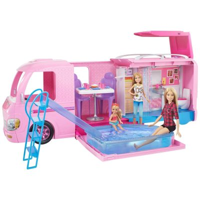 Barbie DreamCamper Adventure Camping Playset with Accessories Just $70 (Reg.  $94)