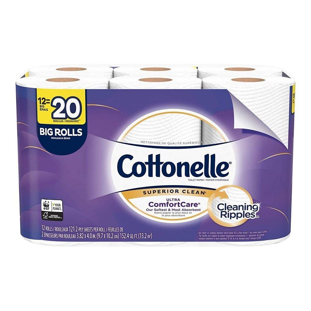 Cottonelle Ultra Comfortcare Toilet Paper Soft Bath