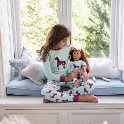 Girl & Doll Matching Pajamas Just $17.99