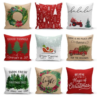 Farmhouse Christmas Pillow Collection / Free Shipping Just $9.99