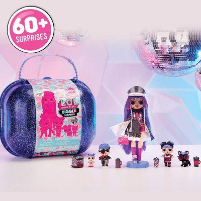 L.O.L. Surprise! Winter Disco Bigger Surprise includes O.M.G. Fashion Doll (Amazon Exclusive) *Cyber Week Deals*