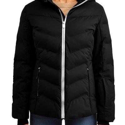 Time and Tru Women's Puffer Coat Just $23.10 (Reg.  $59.98)
