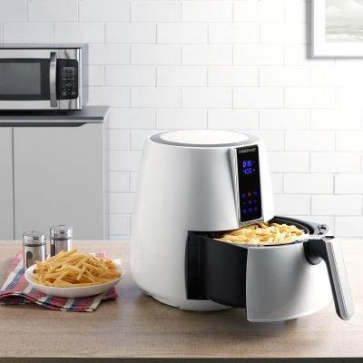Farberware 3.2 Quart Digital Air Fryer, Oil-Less, White Just $49 (Reg.  $69)