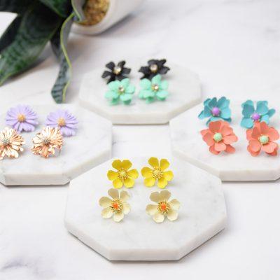 Spring Flower Earrings Just $9.99