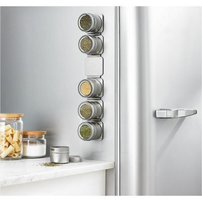 Martha Stewart Collection Magnetic Tin Spice Rack Just $16.09 (Reg $34)