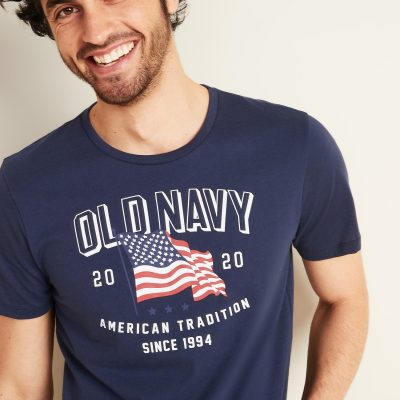 Old Navy: Flag Tees Tanks for the Whole Family Only $4-$5!