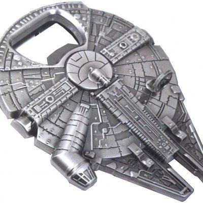 Rebel Alliance Star Wars Millenium Falcon Metal Bottle Opener – $4.95