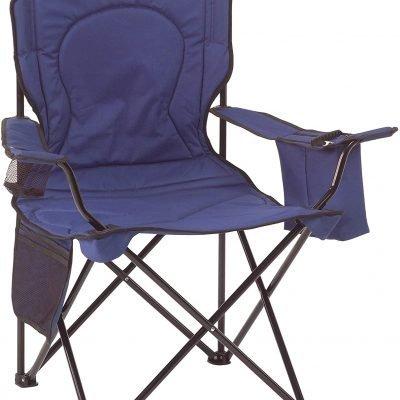 Coleman Cooler Quad Portable Camping Chair, Blue – $25.75 (REG. $47.99)