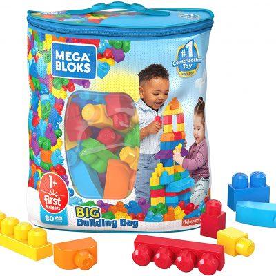 Mega Bloks First Builders Big Building Bag  (80 Pieces)  – $14.90 (REG. $24.99)