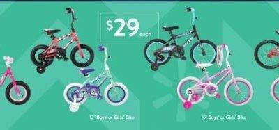 Target & Walmart – $29 and $39 Kids' Bikes