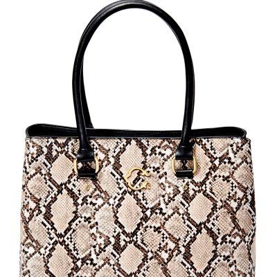$22.99 (REG.  $39.99) – C. Wonder Beverly Triple Section Vegan Leather Tote Bag