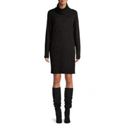 $10 (REG.  $19.96) – Time and Tru Women's Cowlneck Dress – Various Colors/Sizes