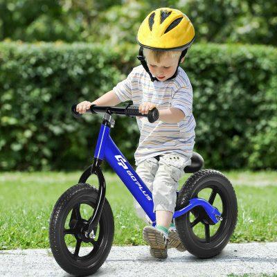 "$45.99 (REG.  $99.99) – Goplus 12"" Balance Bike Classic Kids No-Pedal Learn To Ride Pre Bike w/ Adjustable Seat"