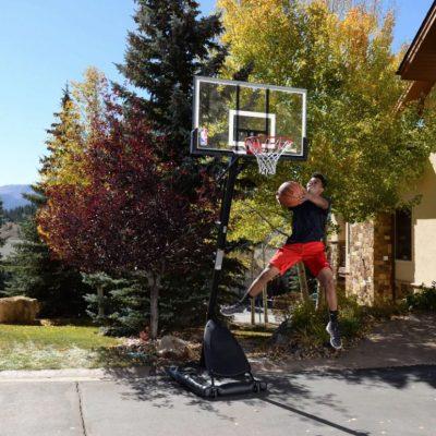Spalding NBA 50″ Polycarbonate Portable Basketball Hoop Just $174.99 (Reg $249.99)