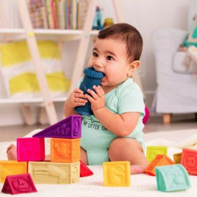 B. toys Educational Baby Blocks – Elemenosqueeze Just $10.99 (Reg $19.99)